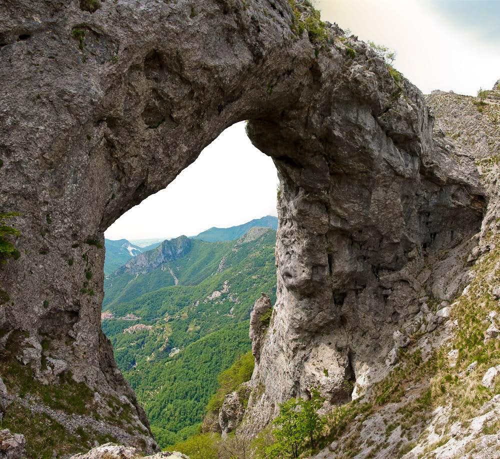 Monte Forato Arch