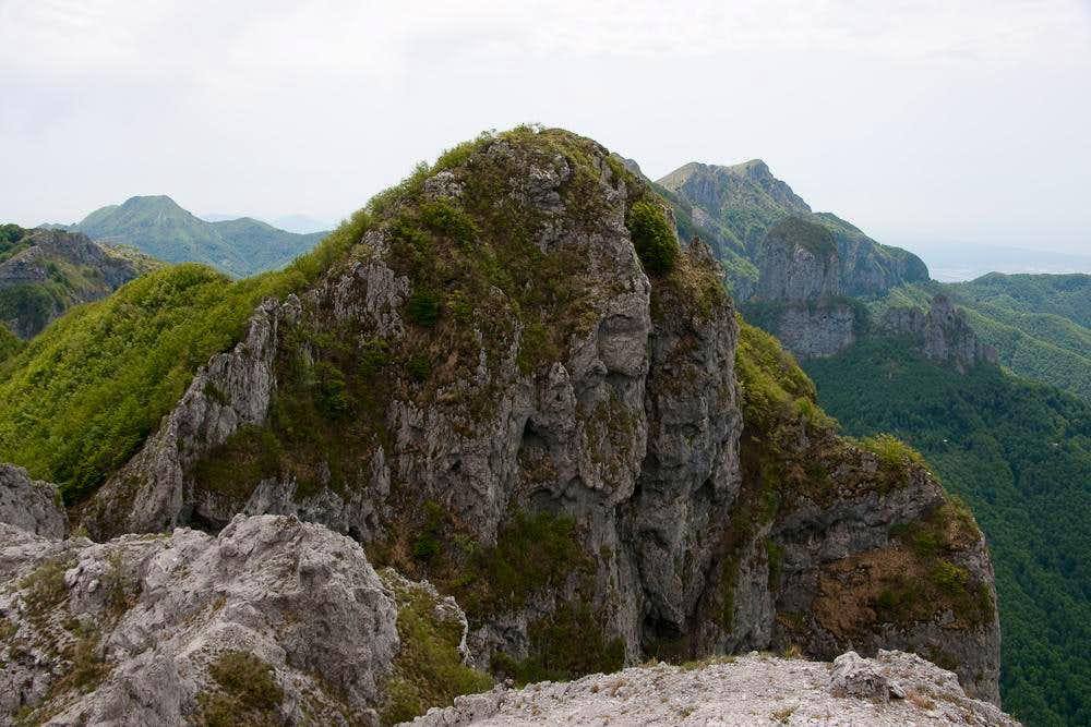 Monte Forato main summit