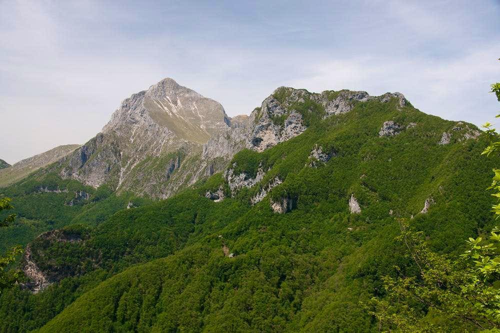 Pania della Croce and Monte Forato