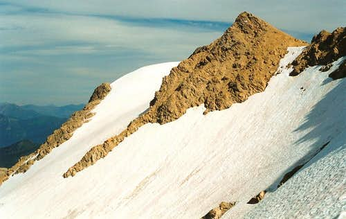 Great Northern Mountain-- View from NW Ridge