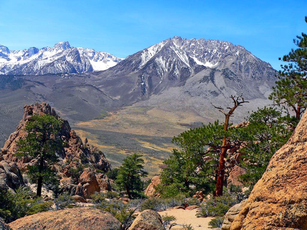 Mt. Humphreys and Basin Mtn. from Grouse Mtn.