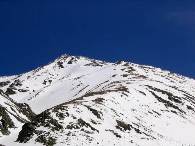 Northwest ridge of Mt Belford...