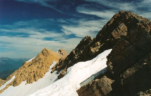 Great Northern Mountain-- Summit Ridge and Summit