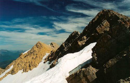 Great Northern Mountain-- Summit Ridge and Summit