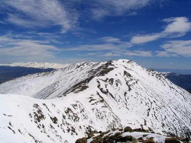 The west ridge of Mt. Oxford,...