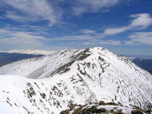 The west ridge of Mt. Oxford,...