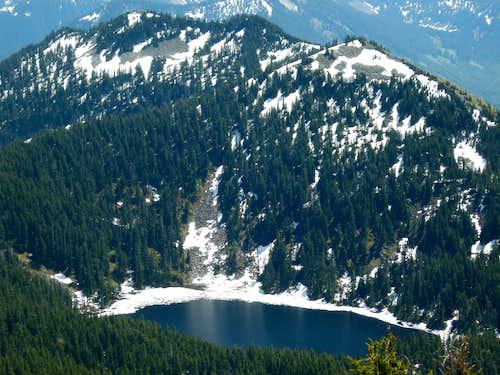 Bandera and Mason Lake