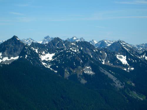 Alpine Lakes Wilderness View