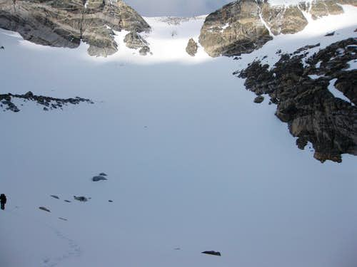 Hourglass Couloir