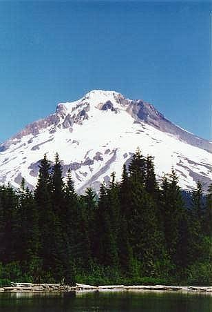 Mt. Hood from Mirror Lake....