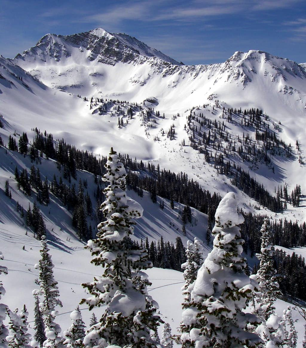 White Baldy and Lake Peak