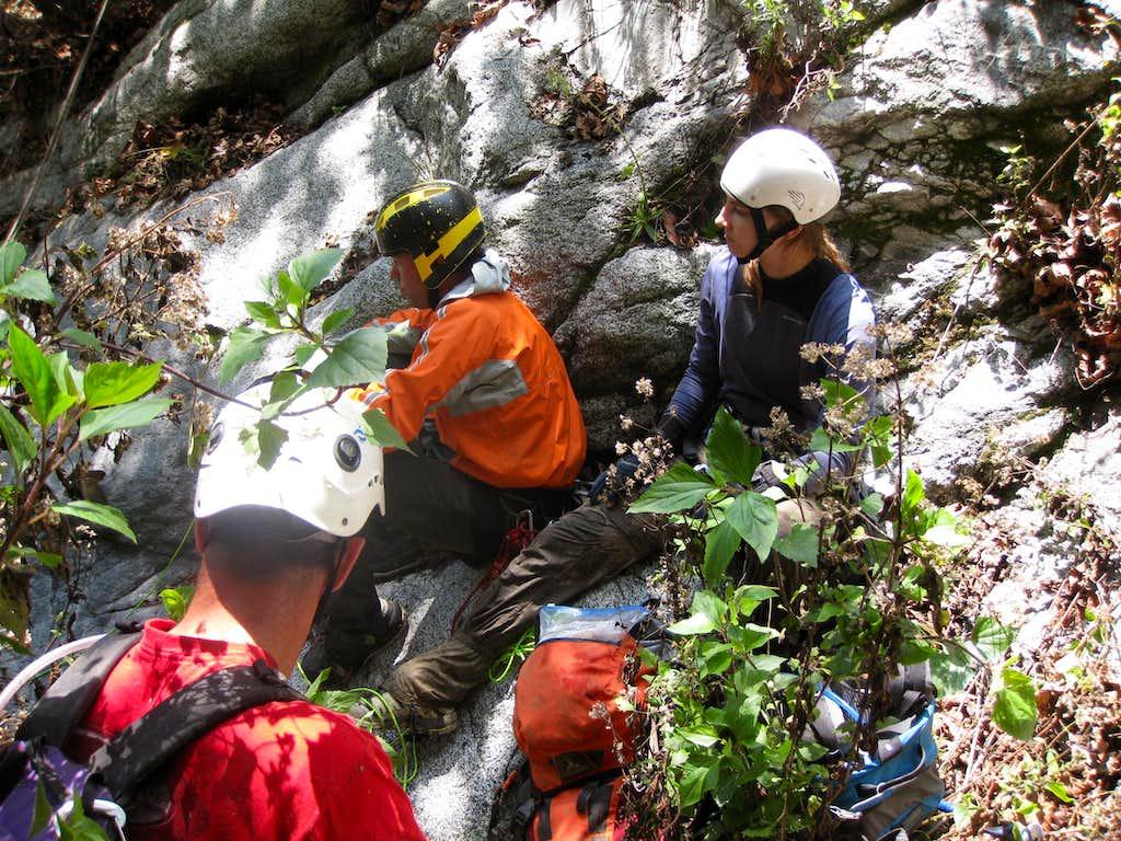 Canyoneering Waiting Game