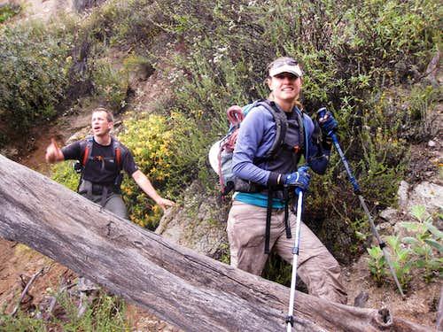 Approach to Pasadena Glen Canyon