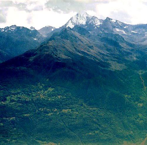 Punta Tersiva (3513m) with...