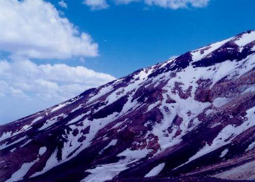 Taftan slopes