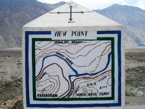Meeting Place of the 3 Great Mountain Ranges, The Karakoram, Himalayas and Hindukush