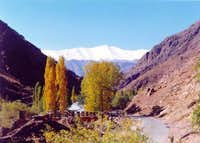 Tochal from Laloon village