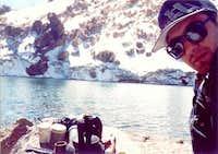 Sabalaan peak With my cousin...
