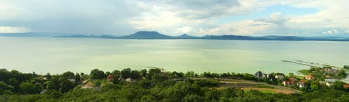 Balaton Uplands panorama