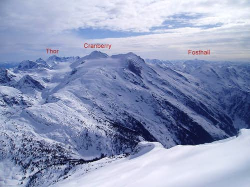 Looking South from Blanket Mountain, Monashees