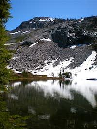 Pyramid Peak From Lake Sylvia