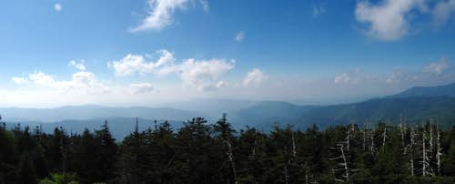Pan from Clingmans Dome