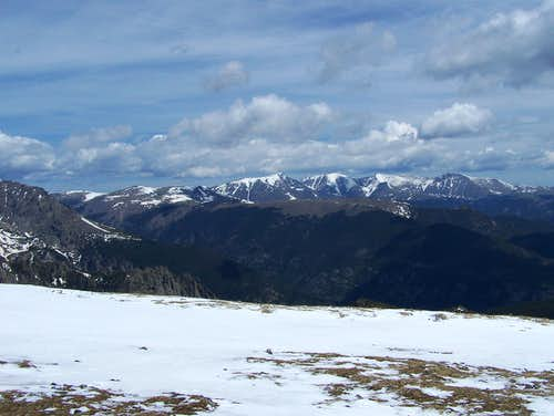Mummy Range from Flattop