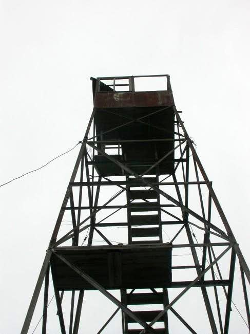 Fire tower atop Mount...