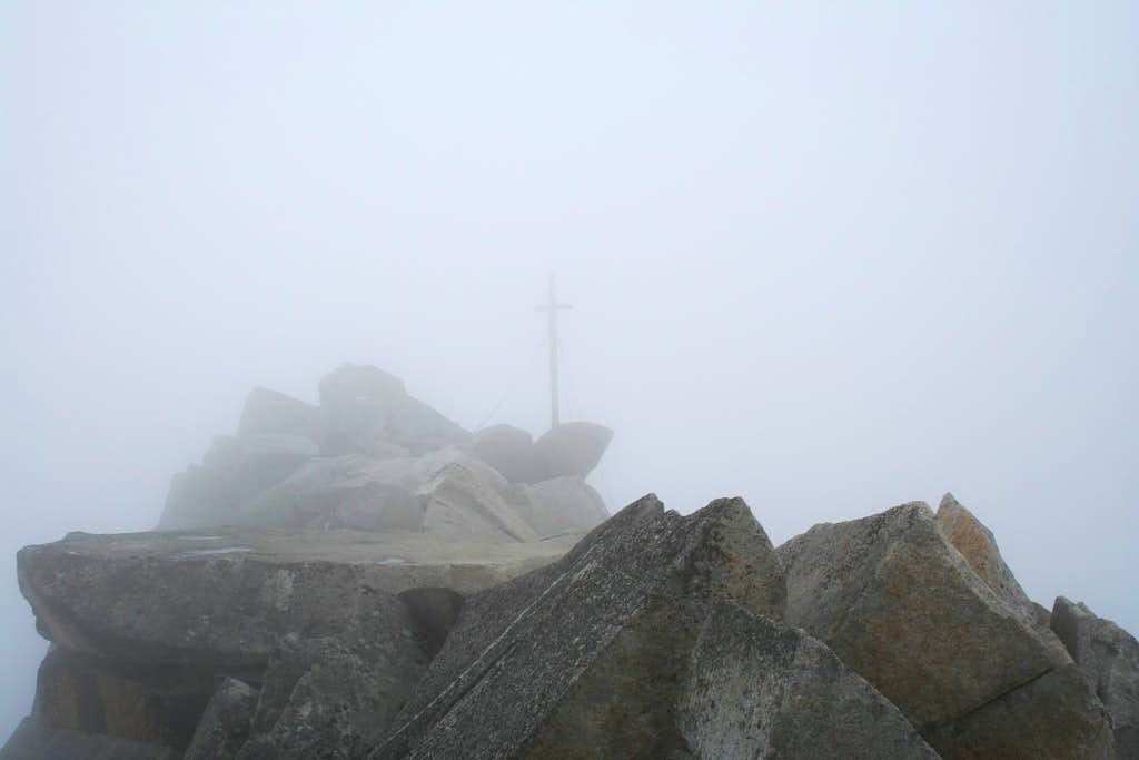 Not a friendly place. The peak of Rauhkofel
