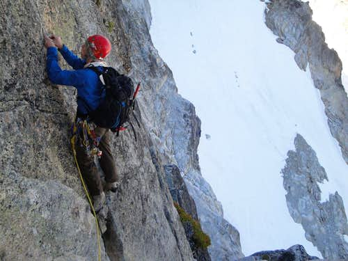 first crux pitch