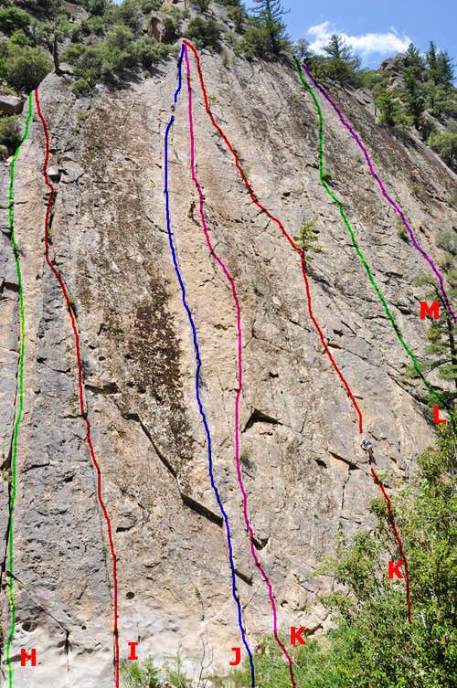 Climbs of the right side