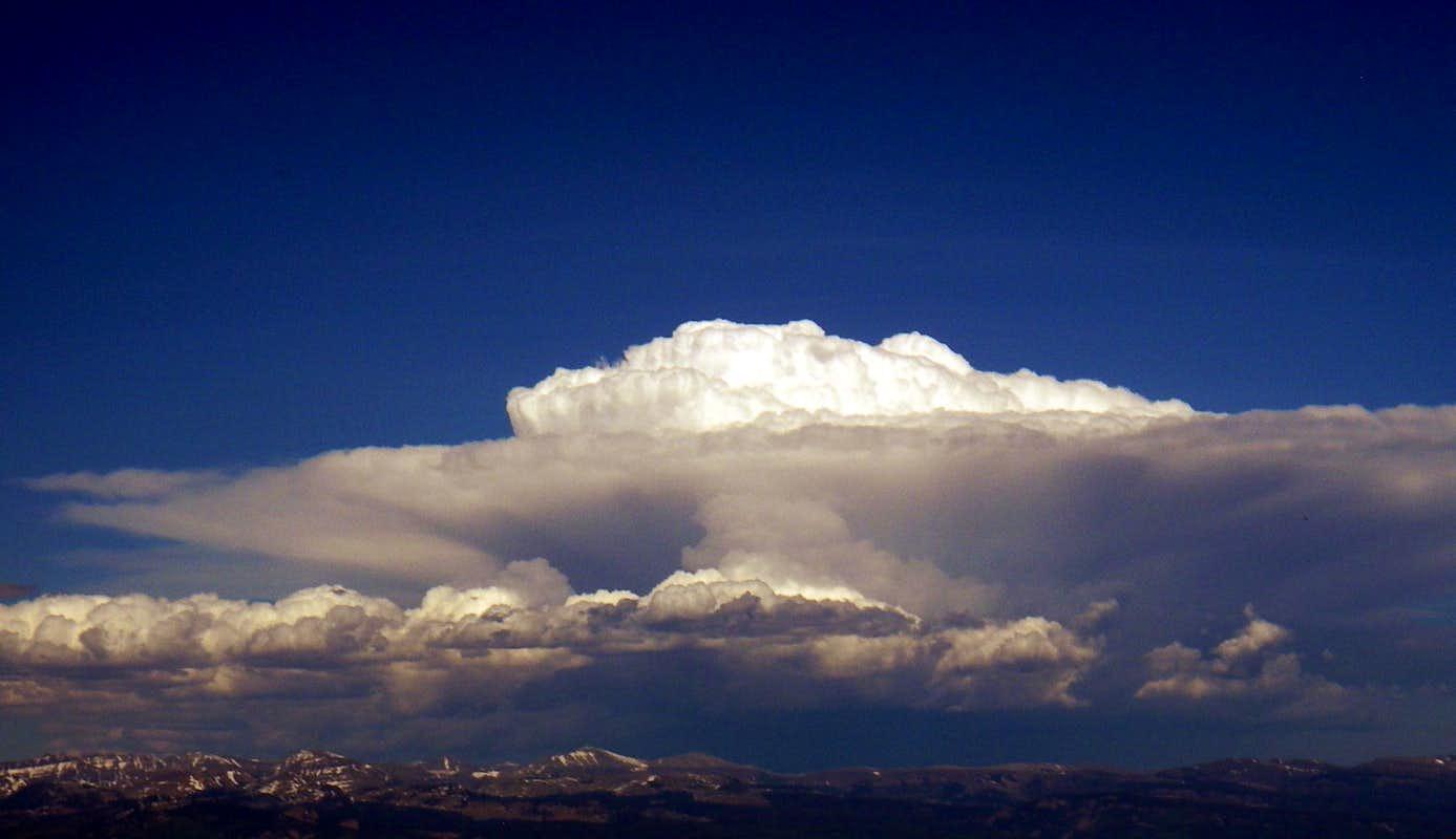 Cumulonimbus Clouds : Photos, Diagrams & Topos : SummitPost