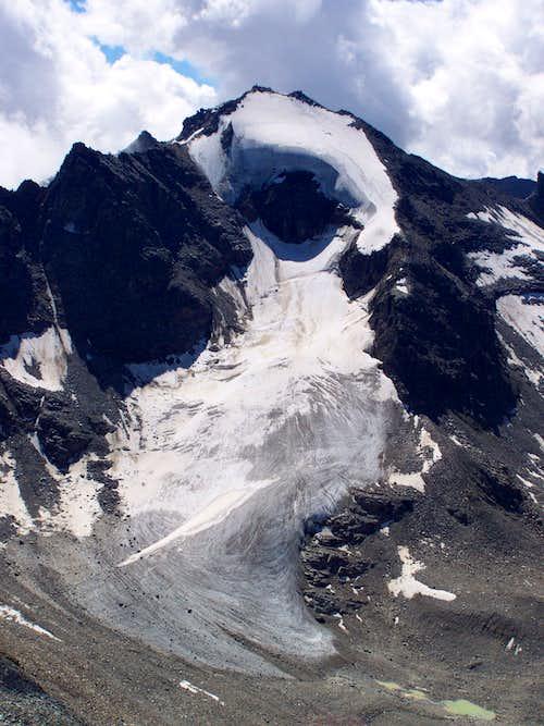 Angelusspitze as seen from Tschenglser Hochwand