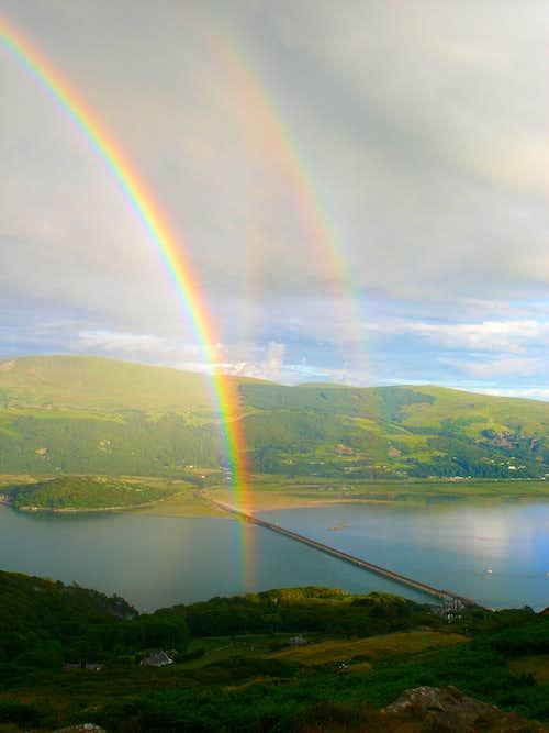 Rainbow over the Mawddach