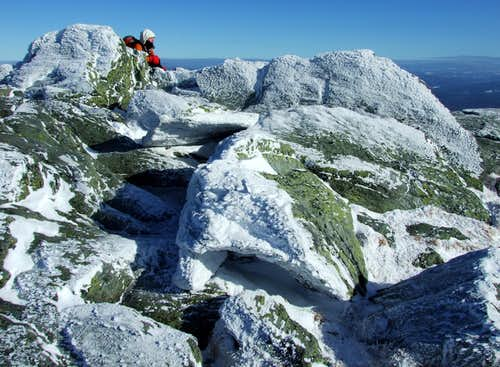 Glacial Erratics on Camel\'s Hump