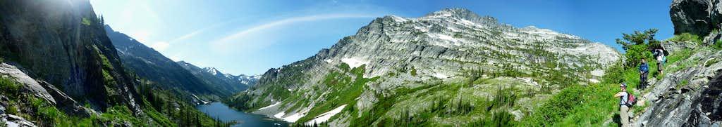 Rock Peak and Rock Lake