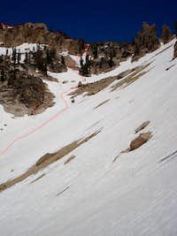 Braxon - Route to east ridge
