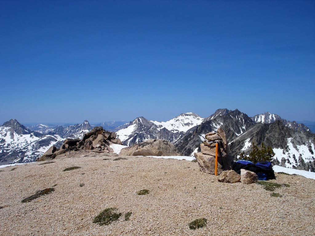 Braxon summit looking North