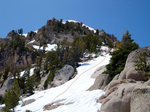 Braxon Peak - East Ridge