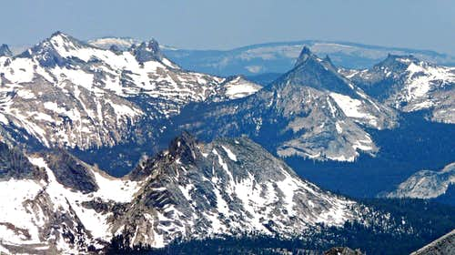 Cathedral Range from Excelsior Mtn.