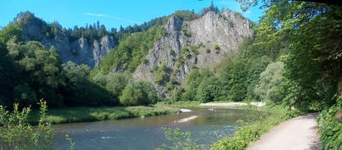 In the Dunajec