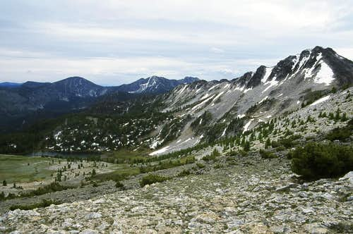 The Broad Open Ridge Traverse to Switchback