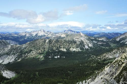 The View North from Switchback