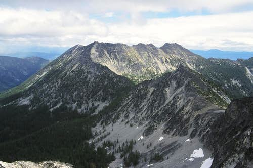 Raven Ridge and Hoodoo Peak