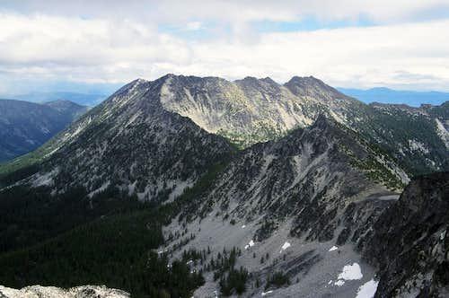 Raven Ridge and Hoodoo Peak