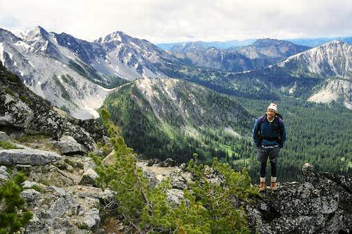 Near Summit of Mount Bigelow