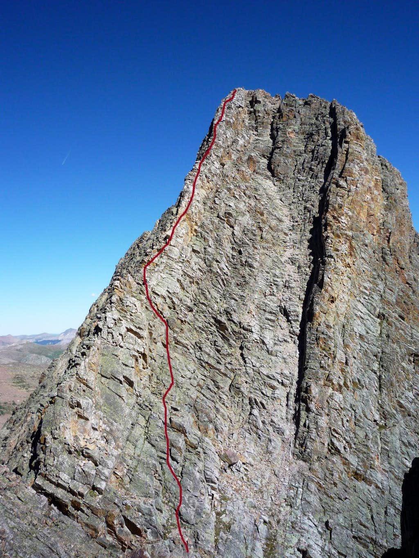 west ridge of east trinity