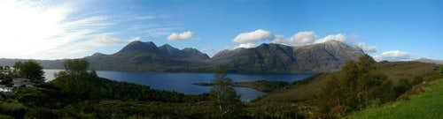 Beinn Alligin and Liathach