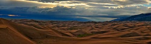 A peaceful Sand Dunes
