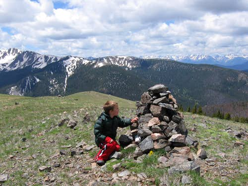 Summit of Bottle Peak